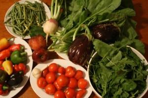 Slow carb diet grönsaker