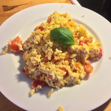 Omelett för viktminskning